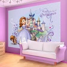 disney sofia the first wallpaper mural amazon co uk kitchen home