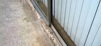 replacing sliding glass door rollers closet door track replacement full size of mirror closet door
