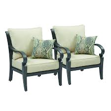 Allen And Roth Patio Furniture Lowes - shop allen roth newstead patio conversation chair at lowes com