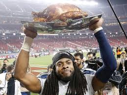 richard sherman won thanksgiving by shutting the 49ers again