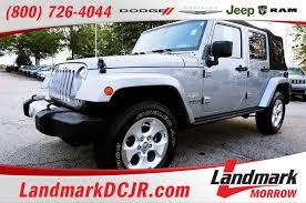 sahara jeep logo wrangler unlimited for sale in morrow ga landmark dodge
