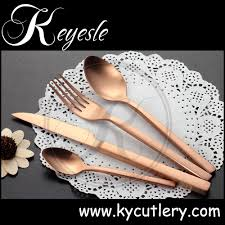 copper silverware brass dinner set brass cutlery view brass