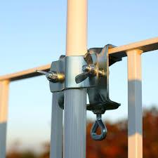 sonnenschirmhalter balkon sonnenschirmhalter für handlauf verzinkt sichtschutz welt de
