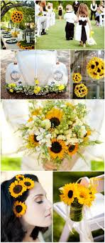 sunflower wedding decorations rustic sunflower wedding ideas and wedding invitations