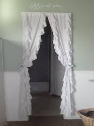 Turquoise Ruffle Curtains 25 Best Ruffled Curtains Ideas On Pinterest Ruffle Curtains