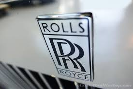 rolls royce car logo 1990 rolls royce silver spur ii classic throttle shop
