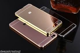 xiaomi mi5 luxury aluminium mirror acrylic back cover for xiaomi mi5 sagaraga