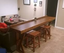 Table Behind Sofa by Furniture Behind The Couch Bar Top For Your Home Ideas Awesome