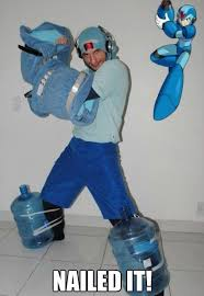 Mega Man Memes - meme megaman cosplay www funny pictures blog com funny pics