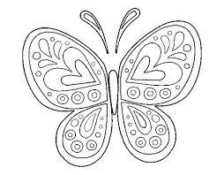 25 mariposa colorear ideas dibujo mariposa