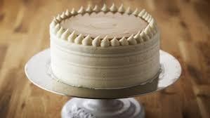 vanilla birthday cake caramel cream recipes food network uk