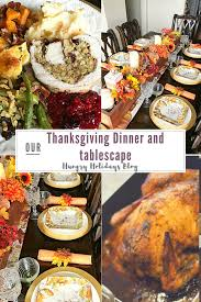thanksgiving table setting and dinner ideas hungry holidays