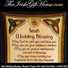wedding blessing wedding blessing plaque with celtic knots
