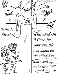 religious easter coloring pages fablesfromthefriends com