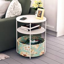 small sofa side table teaside round bedroom bedside computer small table sofa side tables