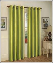 Yellow Faux Silk Curtains Green Faux Silk Curtains Curtains Home Design Ideas