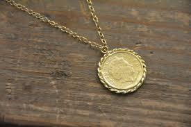 medallion pendant necklace images Coin necklace gold medallion necklace gold coin pendant jpg