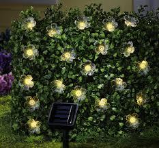String Lights Garden by Solar Outdoor String Lights Home Design By Fuller