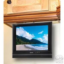 under cabinet tv for kitchen home design