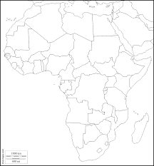 Blank Map Africa Blank Map Of Countries In Africa
