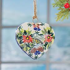 pottery ornaments handmade ornaments uno alla