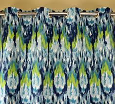Navy And Green Curtains Navy Blue Teal Aqua Citrine Lime Green Ikat Craze