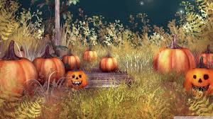 vintage moon pumpkin halloween background halloween pumpkins hd desktop wallpaper high definition mobile