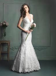 wedding dresses ideas thin sleeves lace mermaid simple elegant