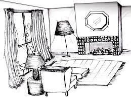 Bedroom Interior Design Sketches Classic Kitchen Design Sketch In Decor Ideas Plumgallery Arafen