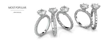 most popular engagement rings low engagement ring mounting