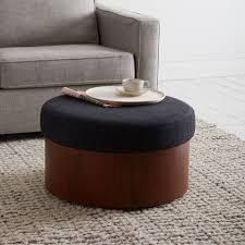 Ottoman Coffee Table With Storage Storage Ottoman West Elm