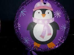 my little creative world purple penguin ornaments