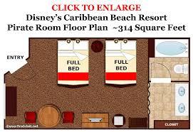 pirate rooms at disney u0027s caribbean beach resort yourfirstvisit net