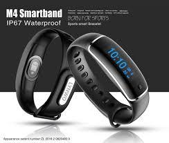app health bracelet images Lynwo m4 health smart bracelet blue jpg
