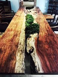 Natural Slab Dining Table Natural Acacia Wood Slab Dining Tables Natural Acacia Wood Slab