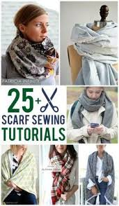 learn how to make an infinity scarf from shabby fabrics using only