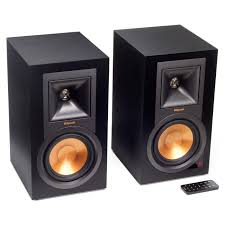 klipsch r 15pm r15pm powered monitor speakers with bluetooth ebay