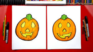 how to draw a pumpkin emoji art for kids hub