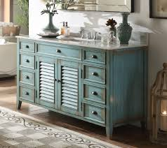 Bathroom Vanities Beach Cottage Style by 60 Inch Bathroom Vanity Cottage Beach Style Distressed Blue Color
