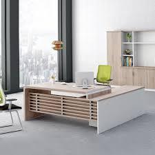 Executive Office Desk For Sale Factory Wholesale Price Office Modern President Desk Wooden Unique