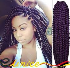 crochet braiding hair for sale 4packs hot sell 24 havana mambo twist crochet braids hair