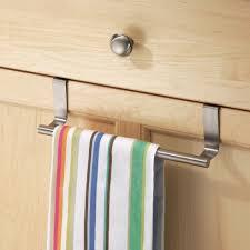 over cabinet door towel bar over cabinet shelves hooks baskets storables