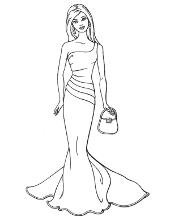 barbie coloring pages print free