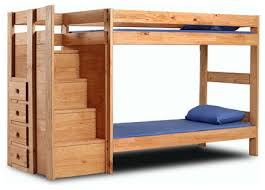 Solid Wood Bunk Beds With Storage Excellent A Solid Wood Bunk Beds Combines Traditional And Modern
