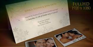 wedding announcement template wedding invitation and story slideshow free