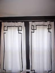 Greek Key Trim Drapes Window Treatments By Melissa A Room Makeover With Jws Interiors