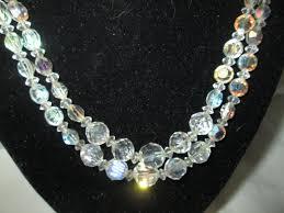 double strand beaded necklace images Beautiful austrian crystal double strand beaded necklace carol 39 s jpg