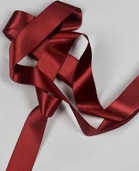 sided ribbon burgundy satin ribbon currant sided ribbon claret satin
