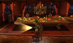 Dining Room Luigis Mansion Dark Moon Super Mario Wiki The - Mansion dining room