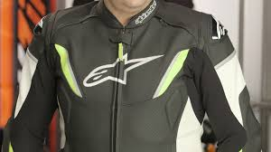 perforated leather motorcycle jacket alpinestars gp r leather jacket review at revzilla com youtube